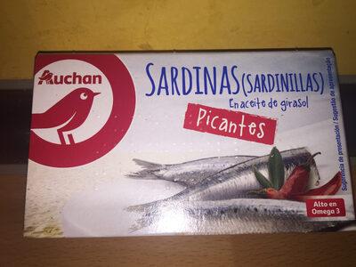 Sardinillas picantes en aceite de girasol - Product - es