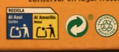 Moules à l'escabeche - Instrucciones de reciclaje y/o información de embalaje - fr