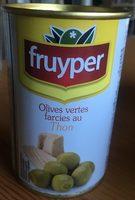 Olives vertes farcies au thon - Product - fr