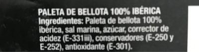 Paleta de bellota Alta expression de los pedroches - Product