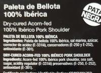 Paleta de Bellota - Producto - fr
