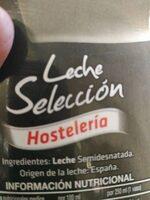 Leche - Ingredients
