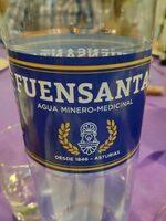 Agua minero-medicinal - Producte