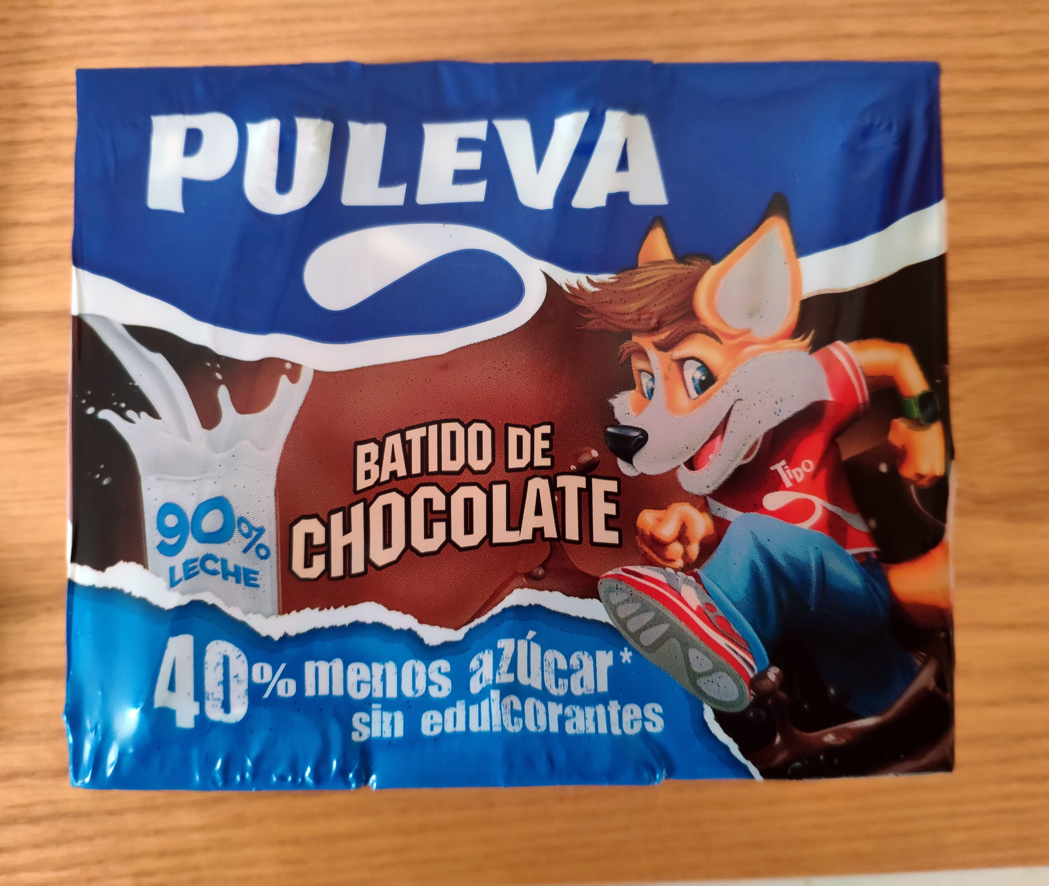 Batido de chocolate 90% leche - Producte - es