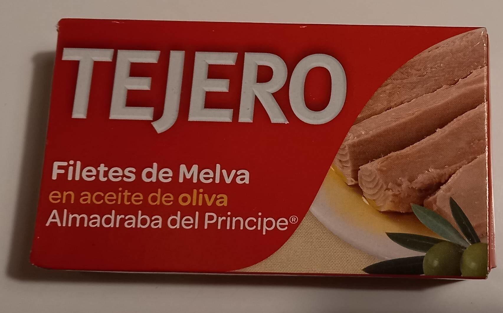 FILETES MELVA ALMADRABA ACEITE DE OLIVA. - Product - es