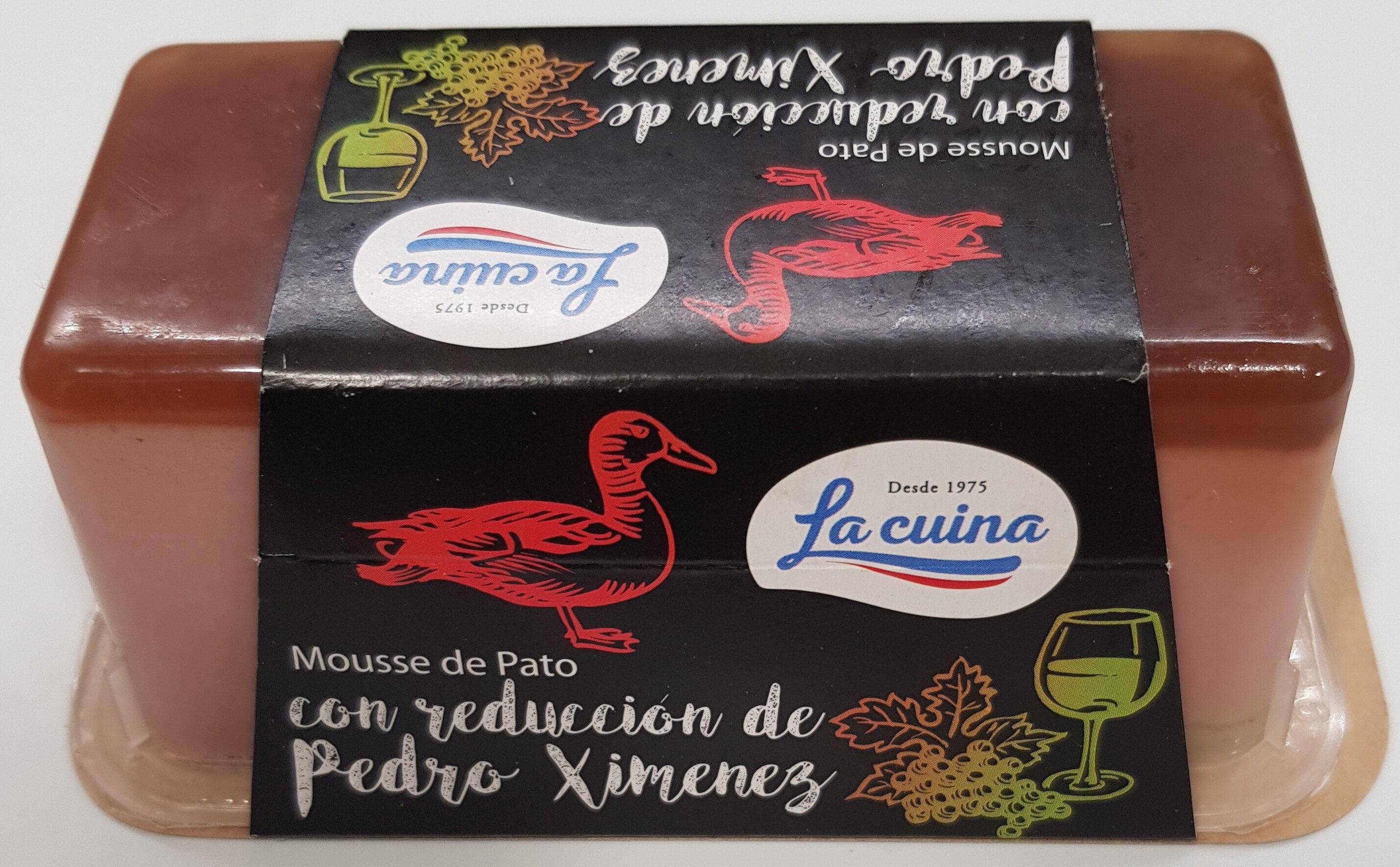 Mousse de pato con reducción de Pedro Ximenez - Produto - es