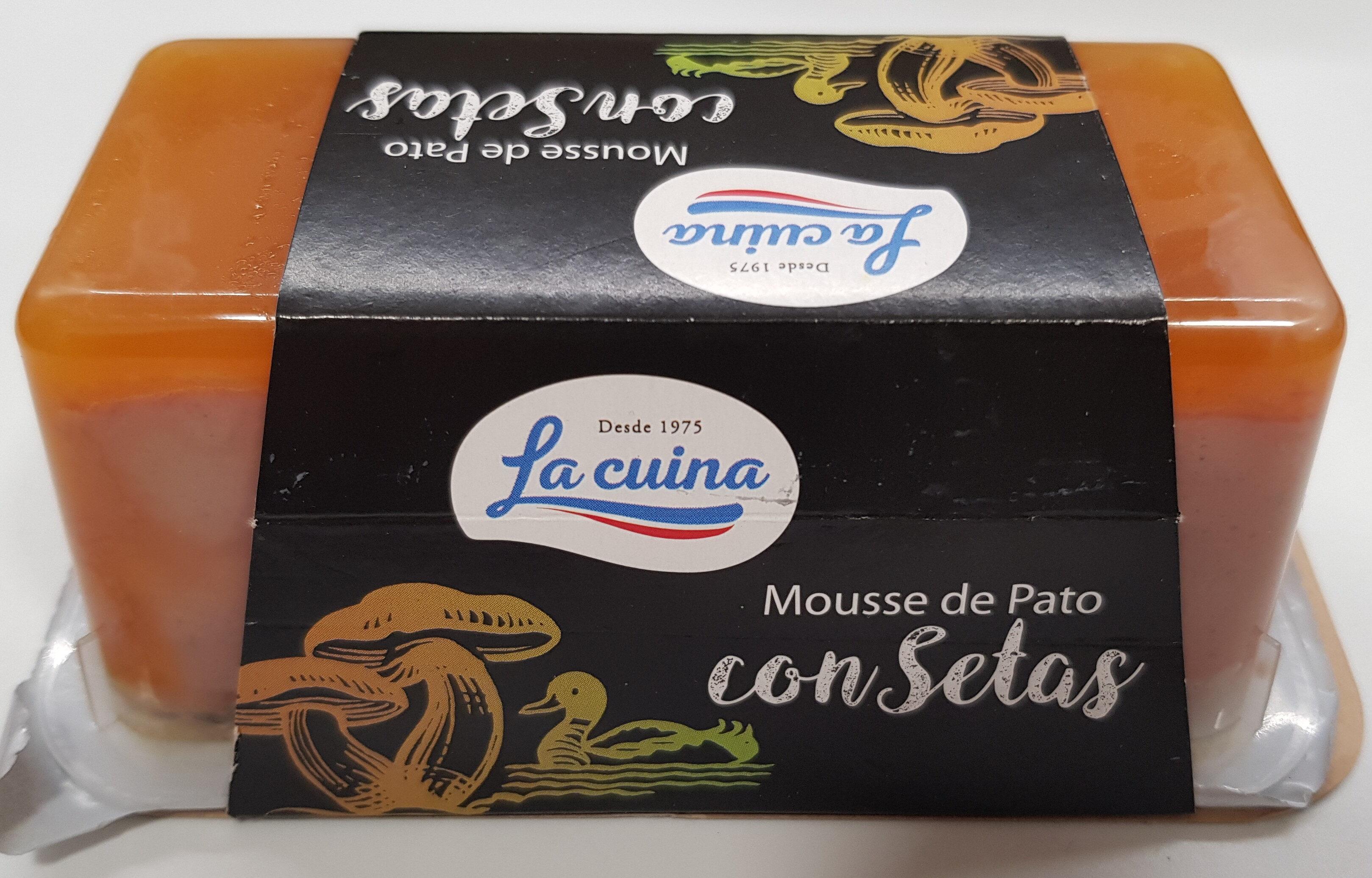 Mousse de Pato con Setas - Producto - es