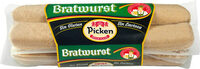 Salchichas bratwurst de cerdo sin gluten sin lactosa - Producte - es