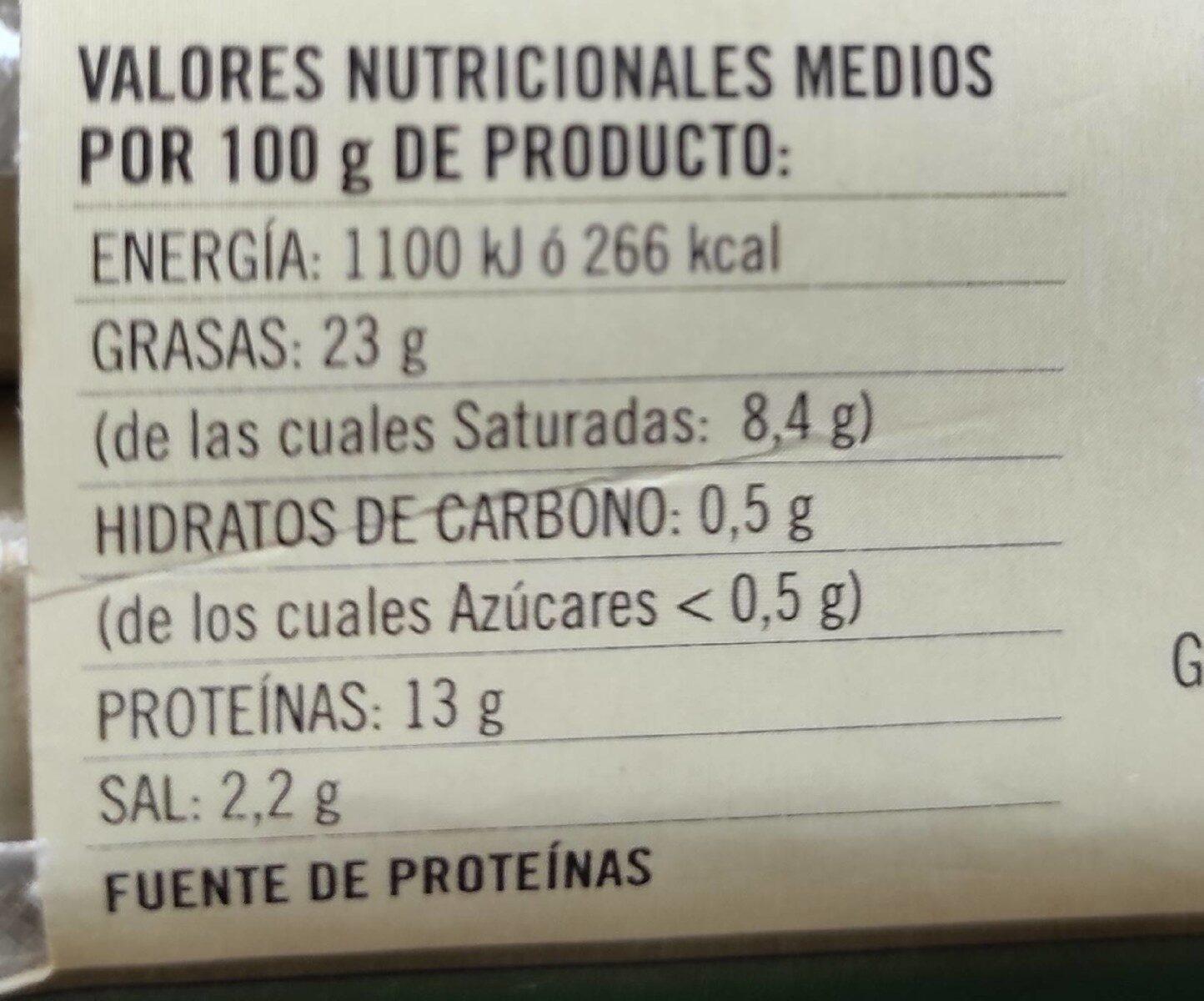 Salchichas bratwurst de cerdo sin gluten sin lactosa - Informació nutricional - es