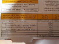 Paté Coren - Informations nutritionnelles - fr