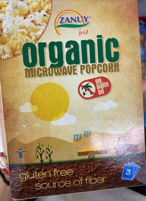 Palomitas organicas