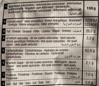 Tortilla Chip & Chia - Informations nutritionnelles - es