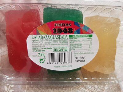 Calabaza glaseada