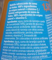 Trinaranjus Naranja - Ingredients