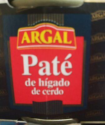 Paté de hÌgado de cerdo - Produit - fr