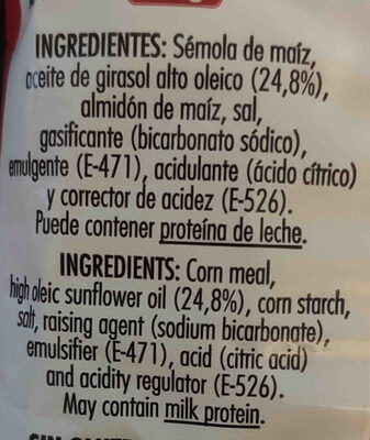 Triskys - Ingredientes