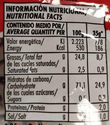 Triskys - Información nutricional - es