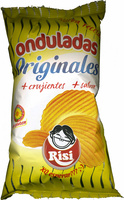 Patatas fritas onduladas - Producto - es