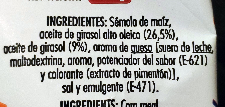 Risketos sabor original - Ingredientes - es
