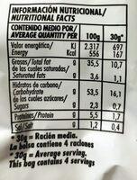 Risketos sabor original - Información nutricional - es
