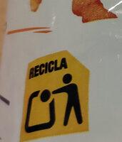 Risketos sabor original - Instrucciones de reciclaje y/o información de embalaje - es