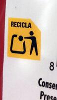 Palomitas - Instrucciones de reciclaje y/o información de embalaje - es