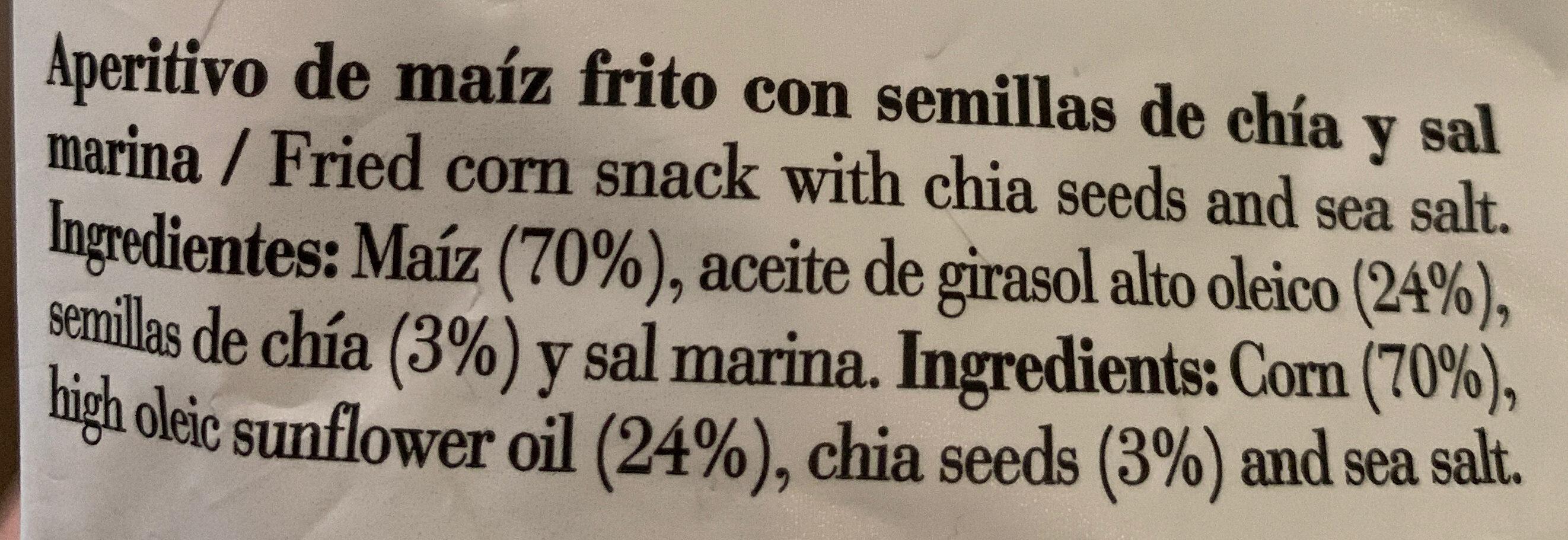 Mios - Ingrédients - es