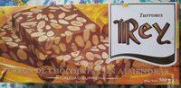 Turrón de chocolate con almendras - Produkt - es