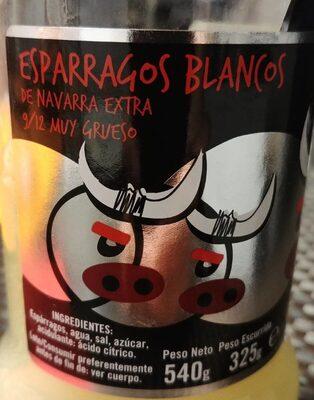 Espárragos blancos de Navarra extra - Produit - es