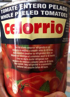 Tomate Celorrio Entero Pelado - Producto