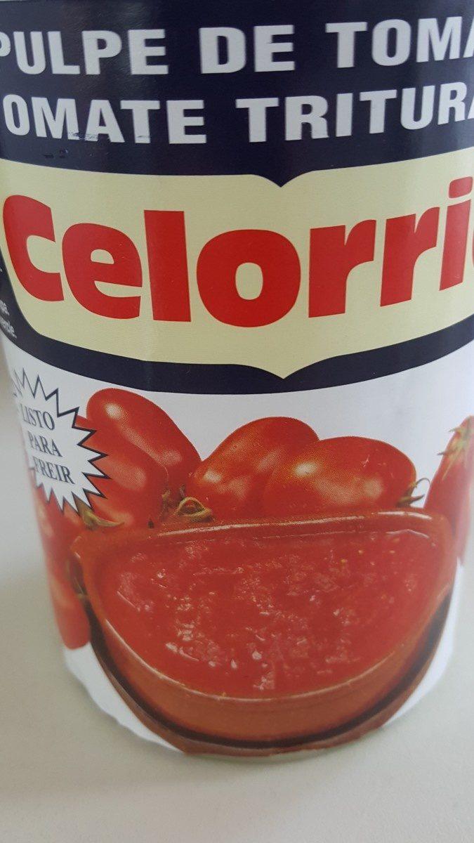 Tomate Triturado Extra Celorrio - Ingrediënten - fr