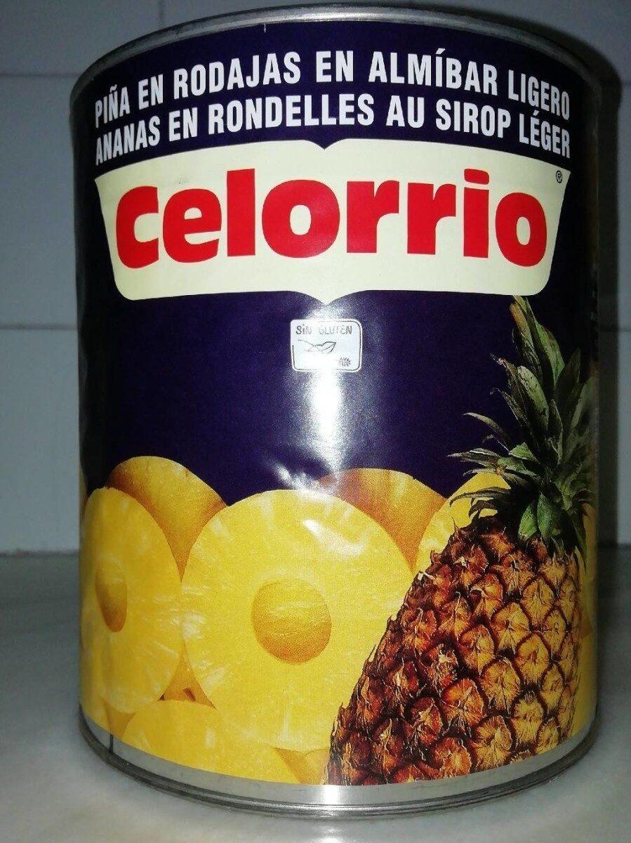Piña en rodajas en almíbar ligero - Produit - es