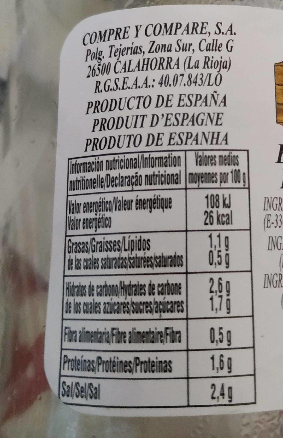 Banderillas Picantes Primera Tarro 1 - Product - fr