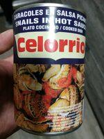 Caracoles en salsa en lata - Produit - es
