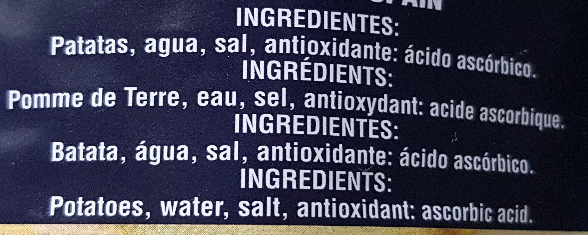 Pomme de terre entiers - Ingredientes