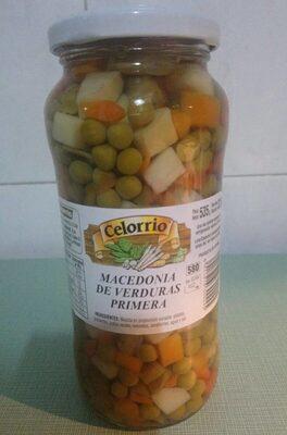 Macedonia de verduras primera