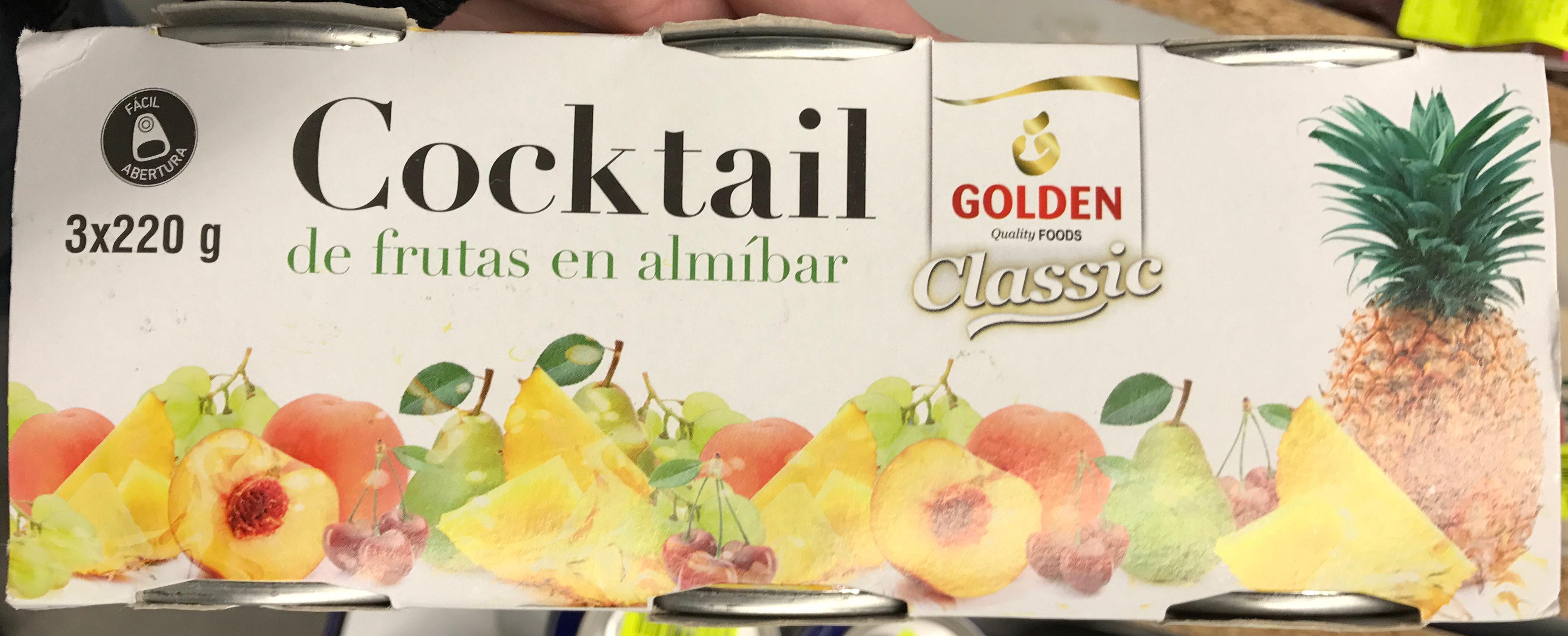 Cocktail de fruits au sirop - Produit