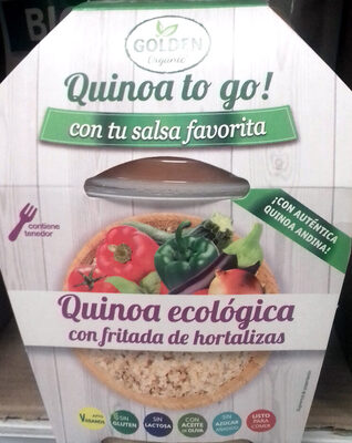 Quinoa ecológica con fritada de hortalizas - Producte - es