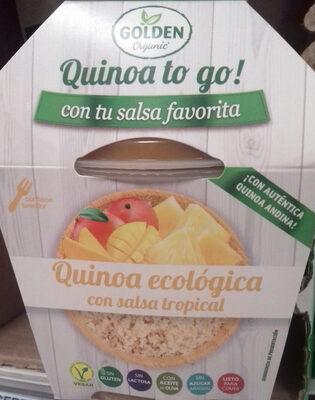 Quinoa ecológica con salsa tropical - Producto