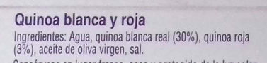 Quinoa Blanca y Roja - Ingredients - es