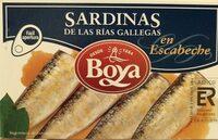 Sardinas de las rías gallegas en escabeche - Product - es