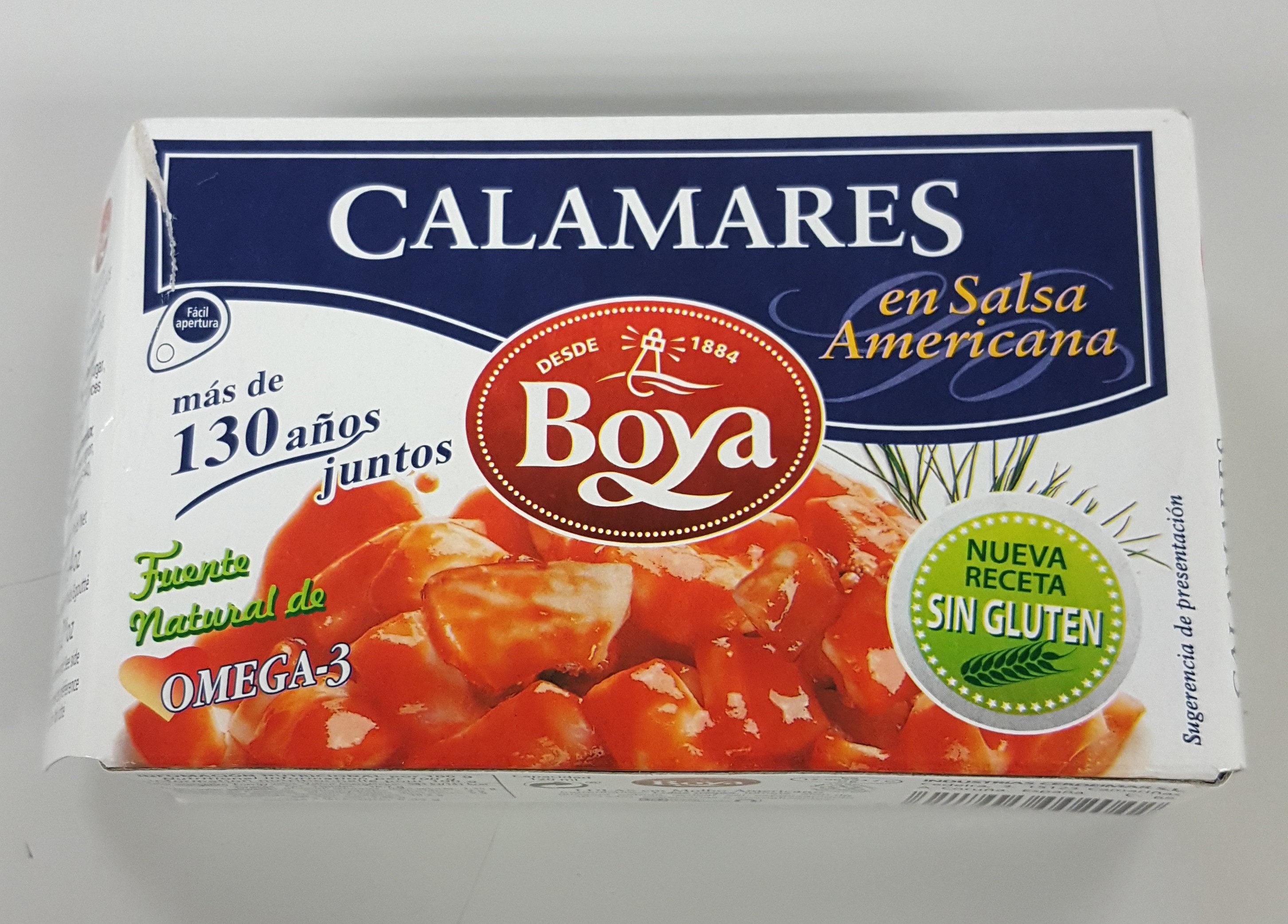 Calamares en salsa Americana - Producto
