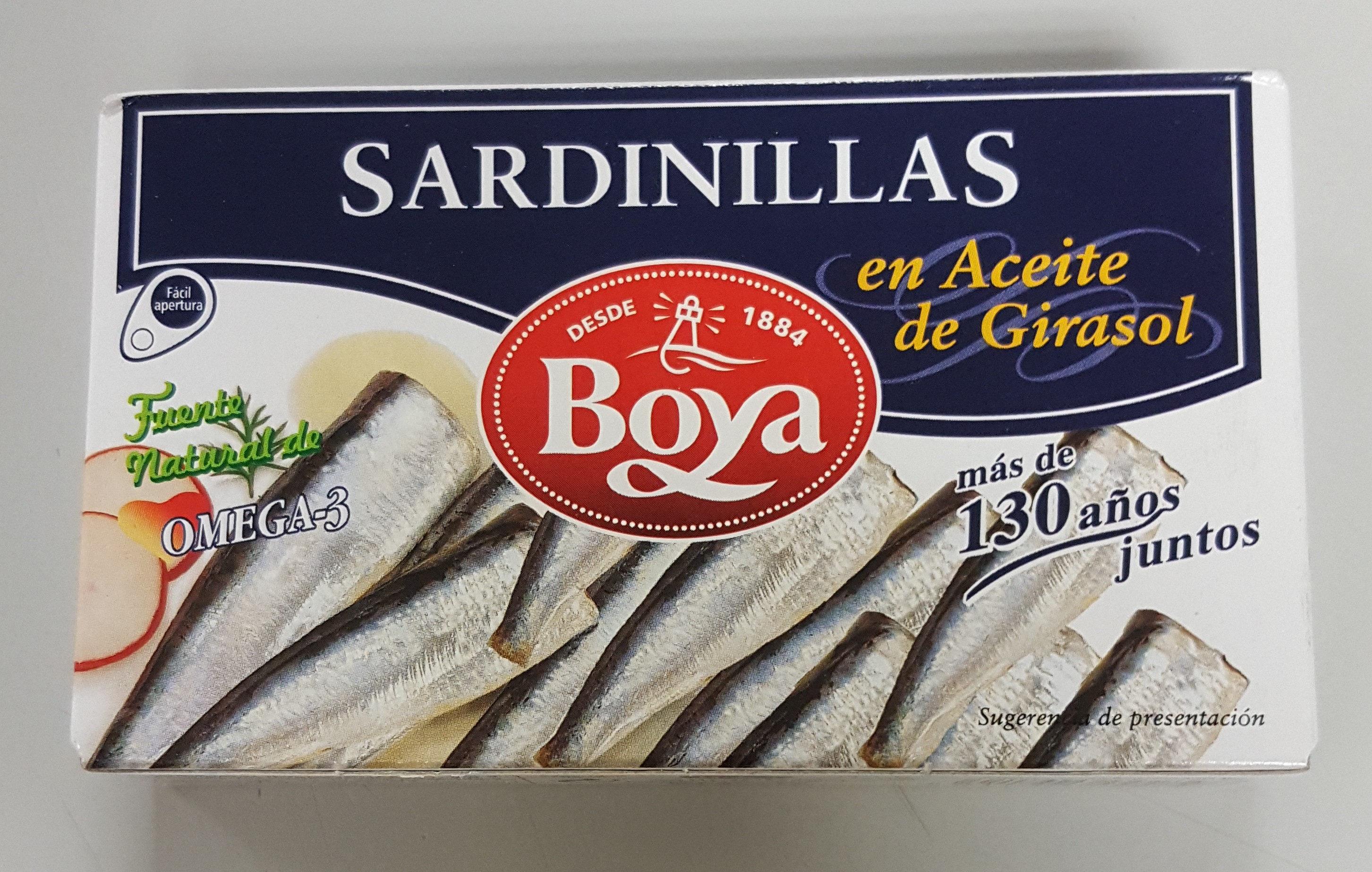 Sardinillas Boya 83 G