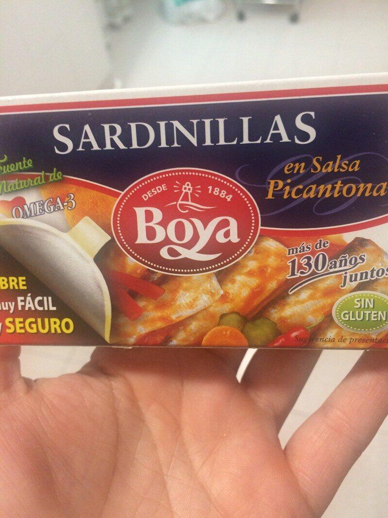 Sardinillas en Salsa picantona - Product - es