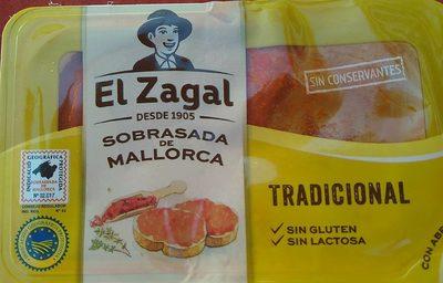 Sobrasada superfina de mallorca sin gluten tarrina - Produit - es