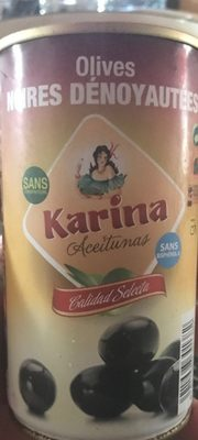 Oliva Negre Grega Deshosada 150GR Karina C / 12 - Produit - fr