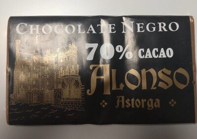 Chocolate Negro Alonso 70% - Producto - es