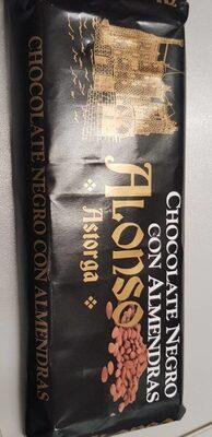 Chocolate negro con almendras - Product