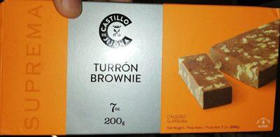 Turrón Brownie