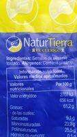semillas de sésamo tostado - Ingredients